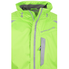 Endura Luminite II Jacket Men hi-viz green/reflective